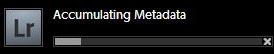 Lightroom accumulating metadata