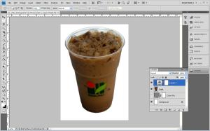 Photoshop Processing Drink Picture