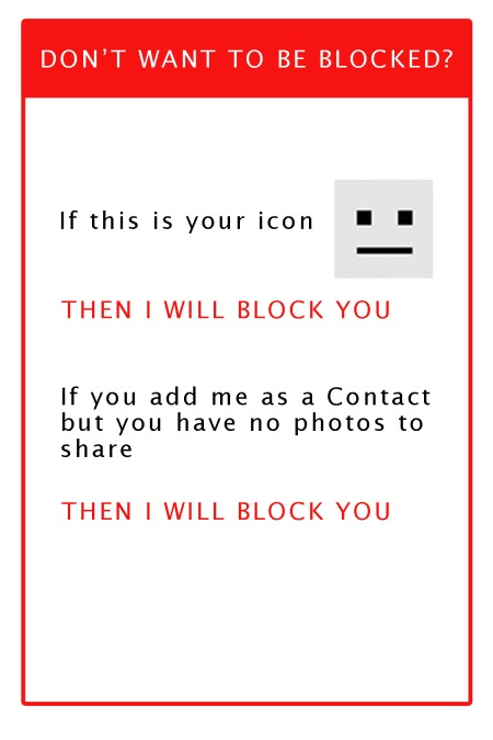 I Will Block You!
