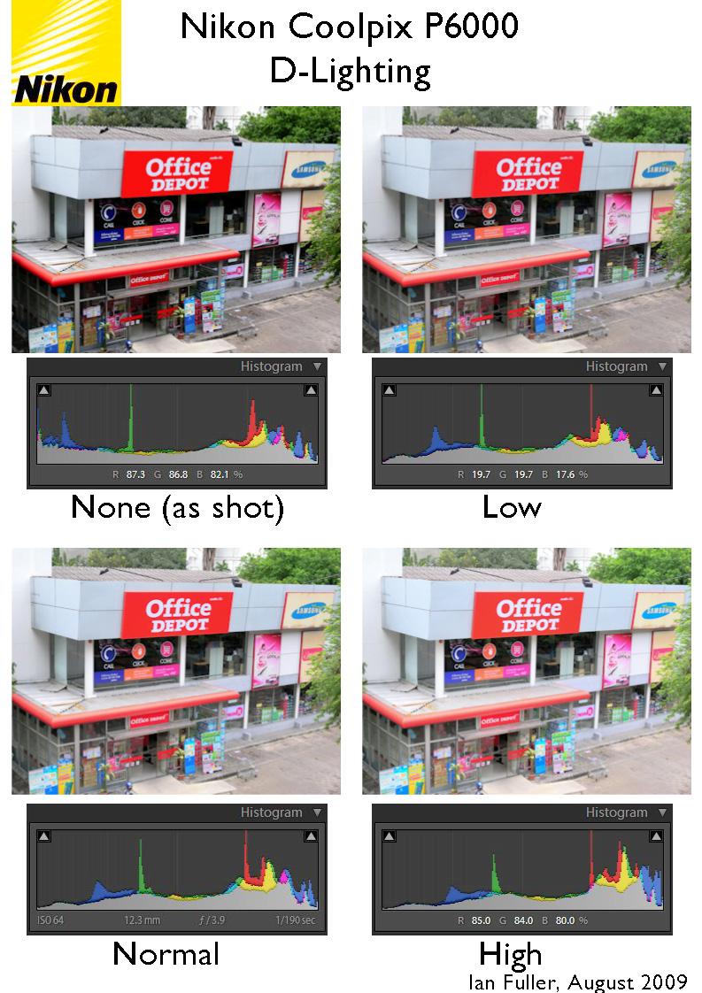 Nikon Coolpix P6000 D-Lighting Comparison & Nikonu0027s D-Lighting | Bkkphotographeru0027s Blog azcodes.com