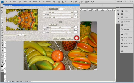 Kaleidoscope 2.1 Filter (Click for a larger version)