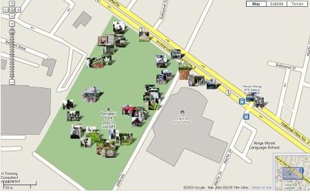 PicasaWeb Map 2009-08-03 2