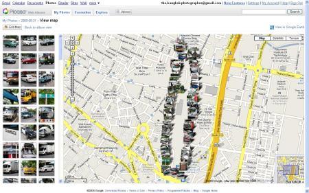 PicasaWeb Map 2009-08-31