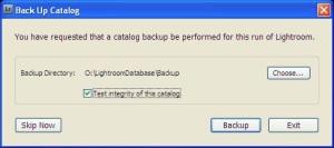 Doing a Backup