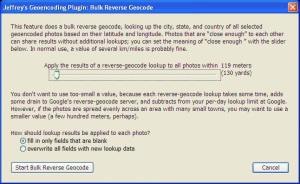 Bulk Reverse Geocode