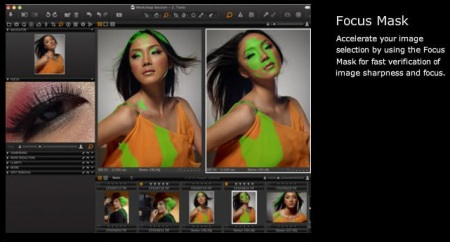 Focus Mask in Capture One 5