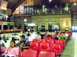 The main ticket hall.
