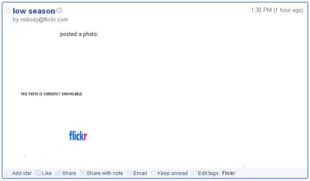 Google Reader Flickr Photo Unavailable-200