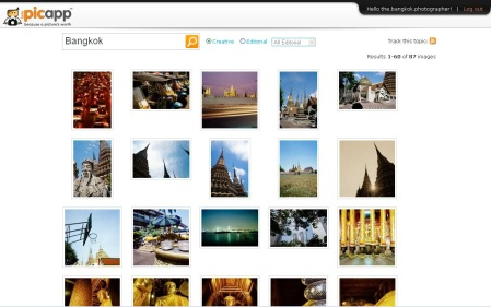 Picapp Bangkok Search Creative