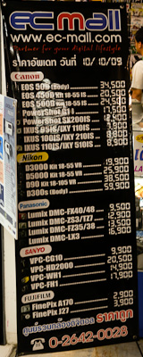 Camera Prices at EC-Mall