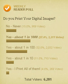 Do you print your digital images?