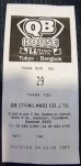 QB House Ticket