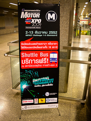 Thailand Motor Expo 2009