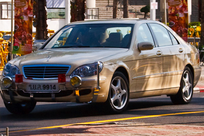 Royal Mercedes-Benz S-Class