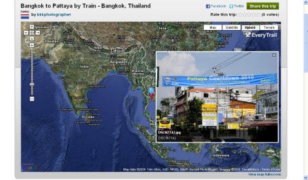 EveryTrail Pattaya Trip