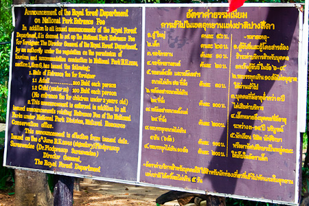 Dual Pricing at Pangsida National Park